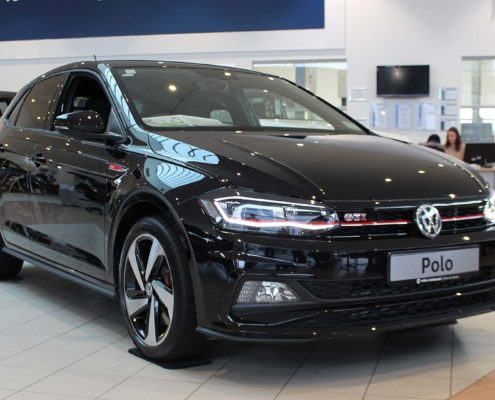 Polo GTI in Deep Black Pearlescent