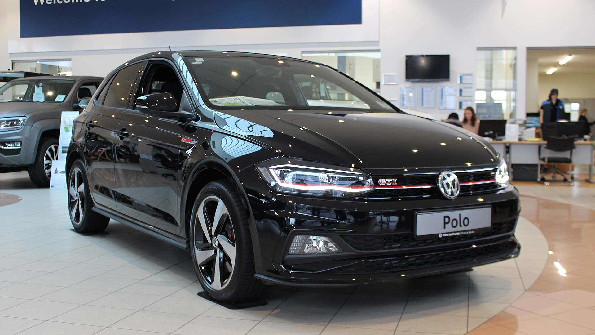 the new polo gti is here miles continental. Black Bedroom Furniture Sets. Home Design Ideas