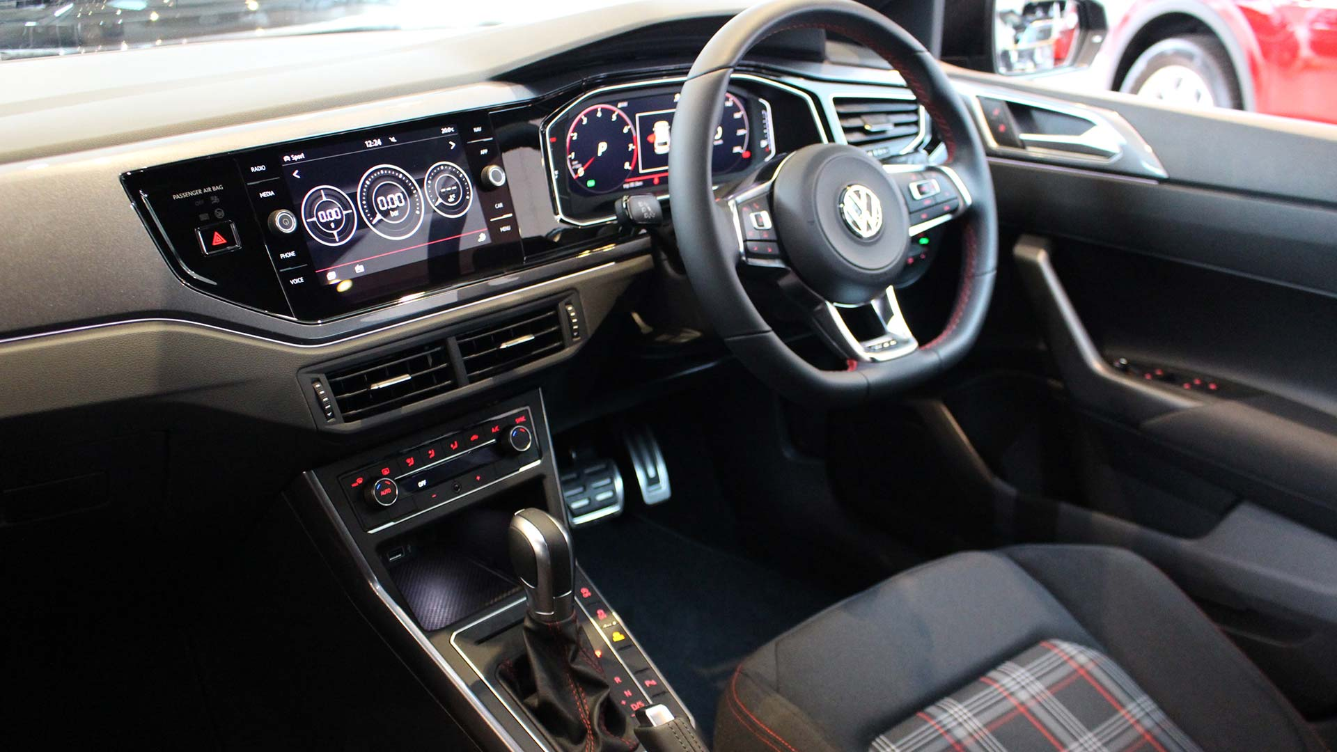 Volkswagen Polo GTI's interior, now with Active Info Display