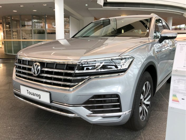2018 Volkswagen Touareg in Germany - Front