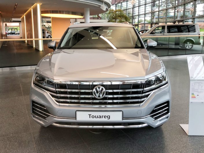 2018 Volkswagen Touareg in Germany - Front Grill
