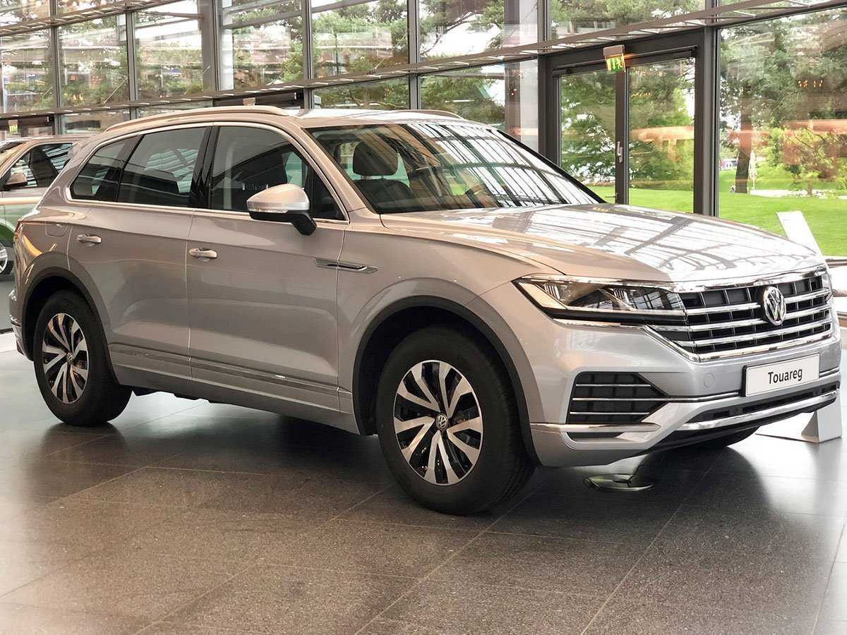 2018 Volkswagen Touareg in Germany