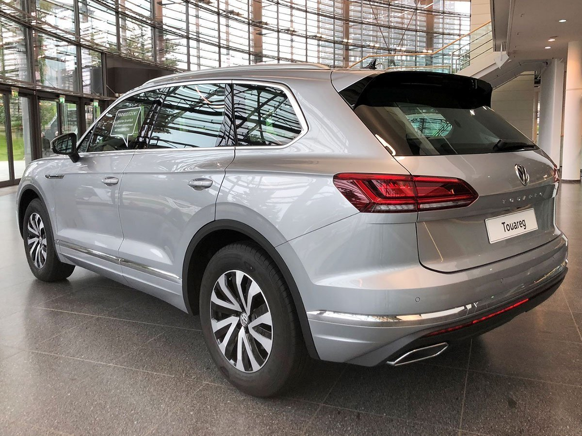 2018 Volkswagen Touareg in Germany - Rear