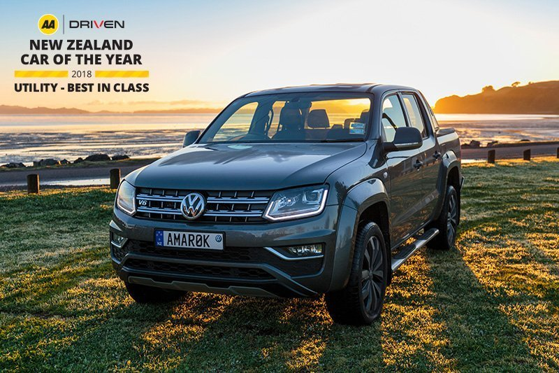 AA Driven Ute of the Year 2018 - Amarok