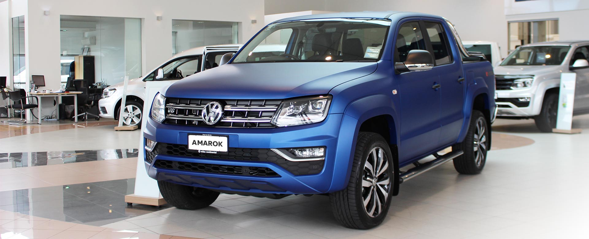 Amarok in Matte Paint Finish