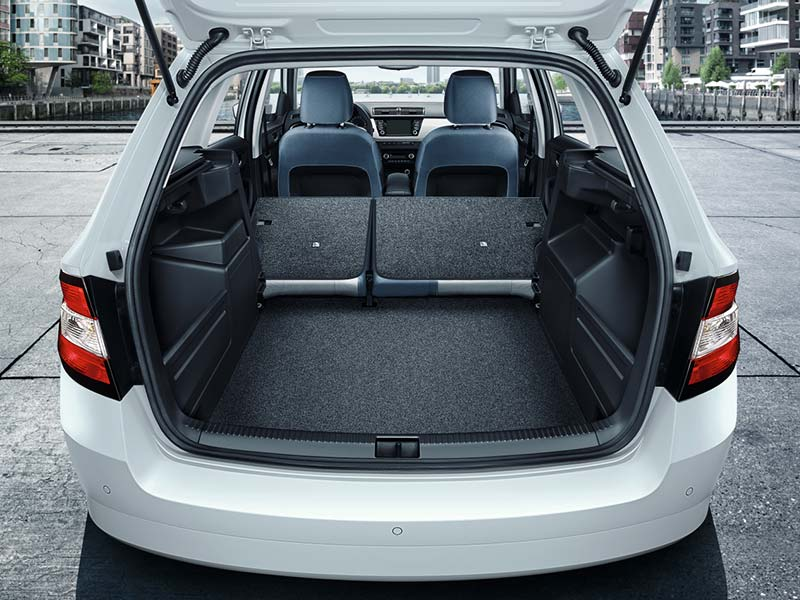 Fabia boot space