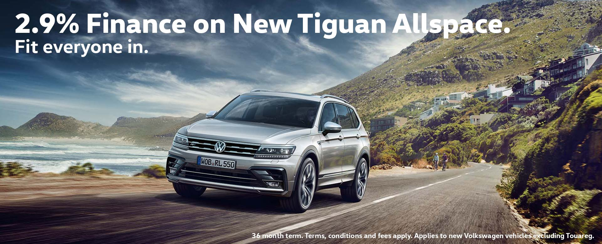 2.9% Finance on Tiguan Allspace