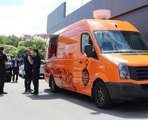 Hellers VW Crafter Van Foodtruck