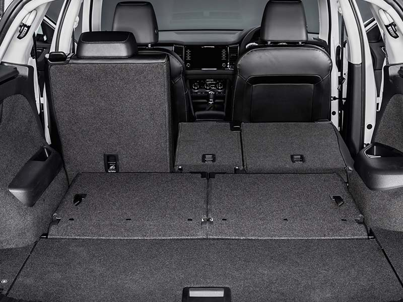 Kodiaq rear seats and boot space