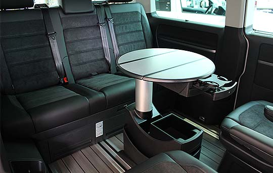 Kombi 70 Interior with Table