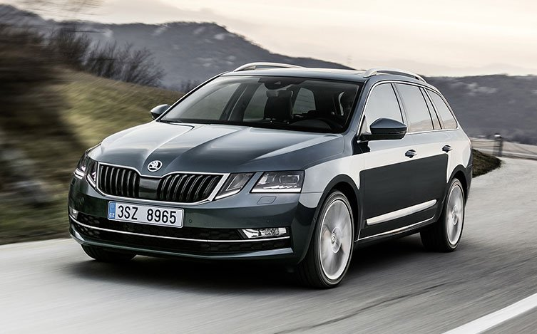 ŠKODA Octavia Wagon in grey
