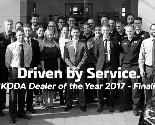 ŠKODA Dealer of the Year 2017 - Finalists