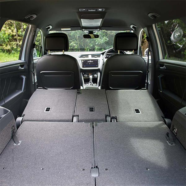 VW Tiguan Allspace R-Line Boot with Seats Folded Flat