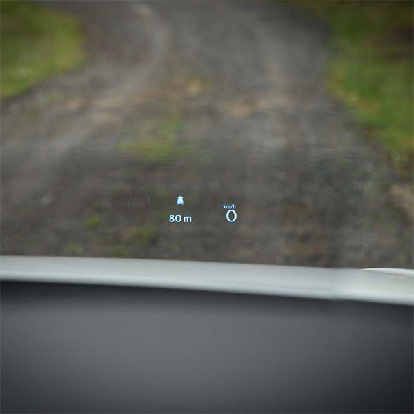 VW Tiguan Allspace R-Line Heads-up Display