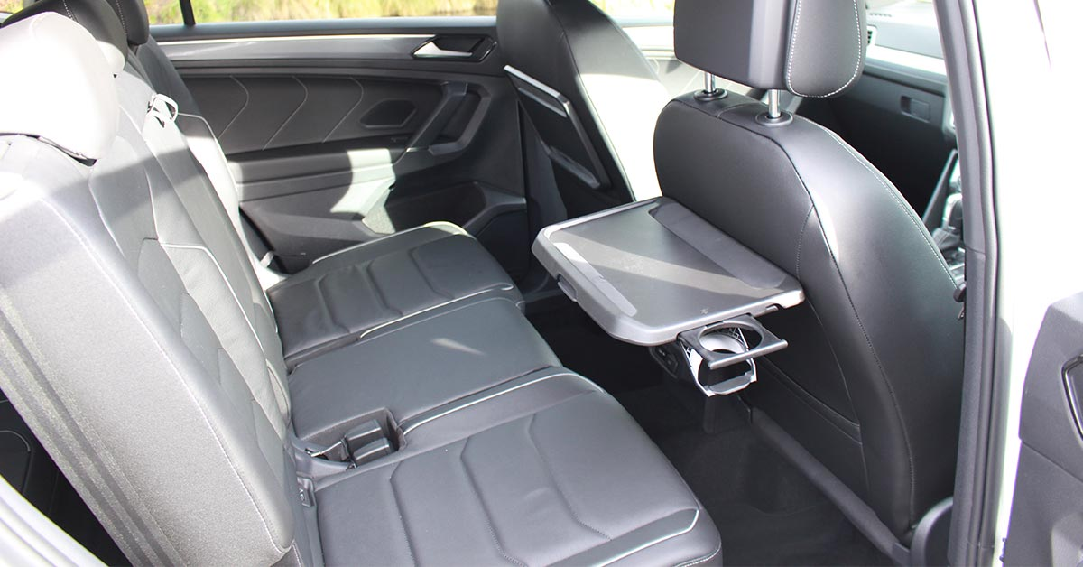 Tiguan Allspace R-Line Rear Leather Seats with Tray Tables