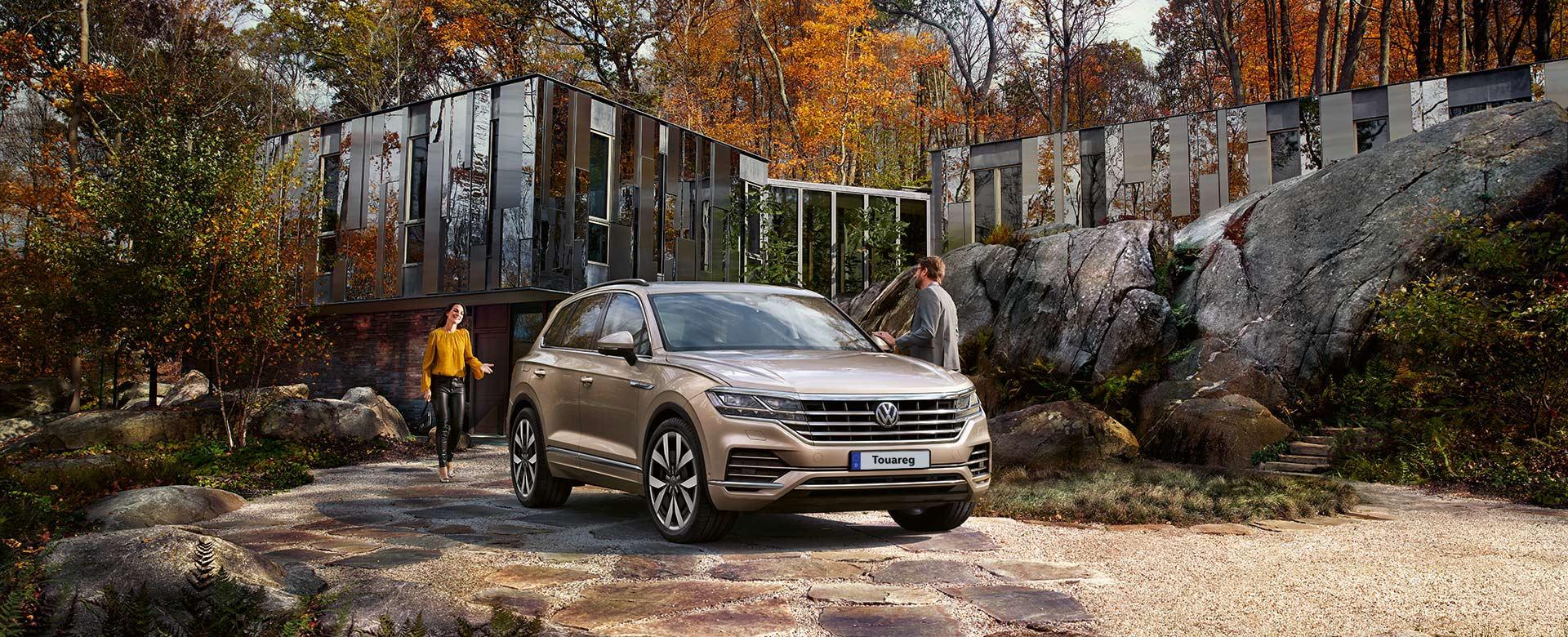All new Touareg coming soon