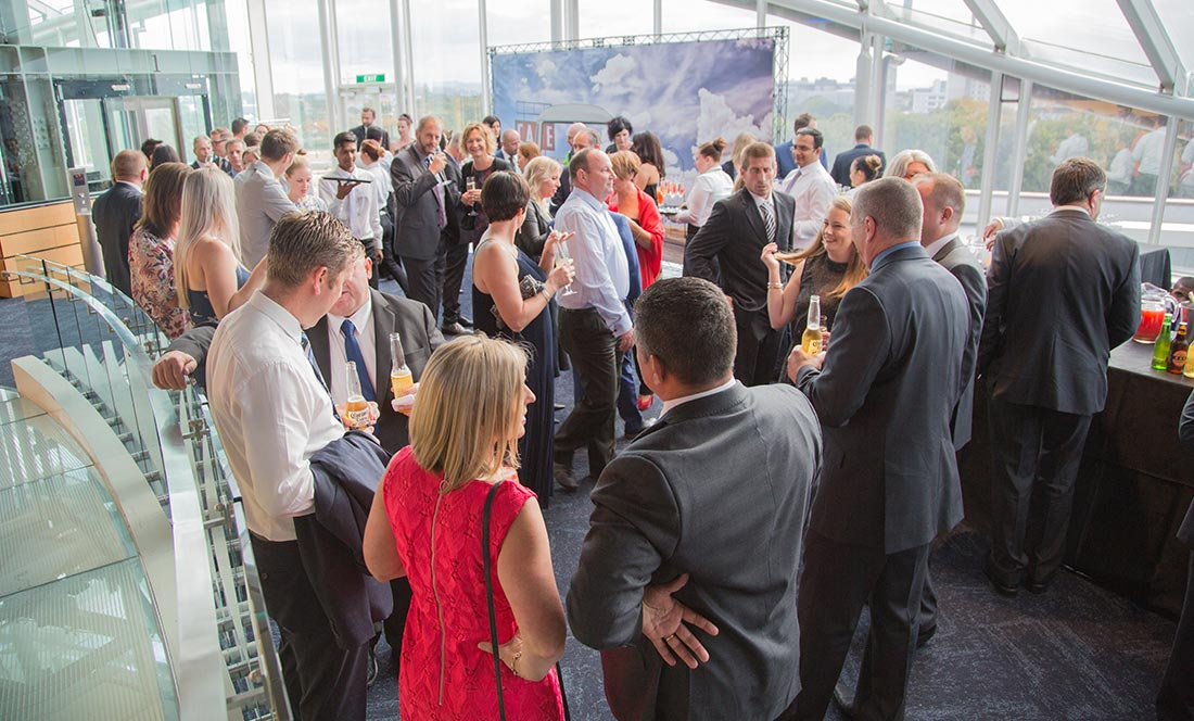 Gathering at the Dealer of the Year Awards