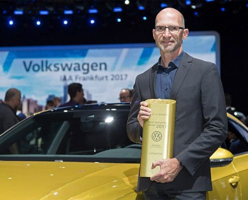 Volkswagen Named Most Innovative Brand