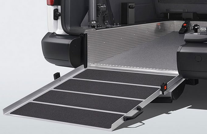 Volkswagen Caddy Mobility Ramp
