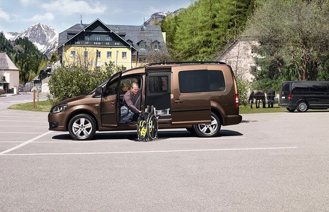 Volkswagen Caddy Mobility Side