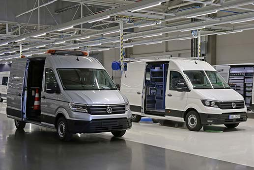 Volkswagen Crafter Van Options
