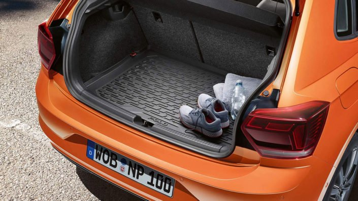 Boot space in the new VW Polo